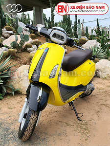 XE GA 50CC VESPA NIO PLUS màu vàng chính hãng Nioshima