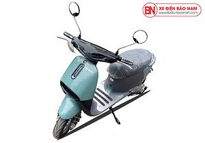 Xe máy điện gogo detech màu xanh