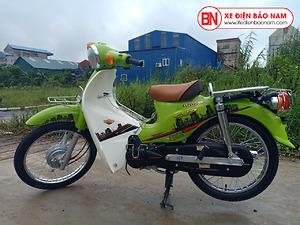 Xe máy 50cc Cub 81 Victoria màu Xanh nõn chuối