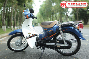 Xe máy 50cc Cub 81 Victoria màu Xanh Dương