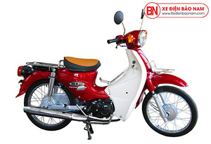 Xe Cub New 50cc Việt Thái Màu Đỏ