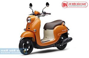 Xe ga 50cc Yamaha Vino Nhật Khẩu Màu Cam