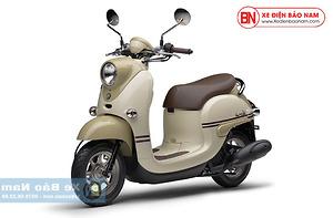 Xe ga 50cc Yamaha Vino Nhật Khẩu Màu Kem