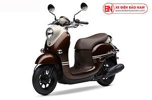 Xe ga 50cc Yamaha Vino Nhật Khẩu Màu Nâu
