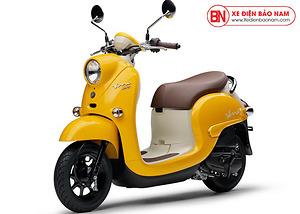 Xe ga 50cc Yamaha Vino Nhật Khẩu Màu Vàng
