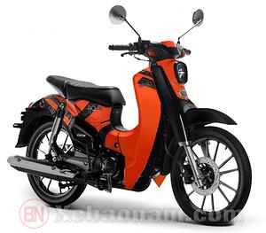 Xe máy CUB 50 SYM Lwen màu cam
