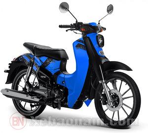 Xe máy CUB 50 SYM Lwen màu xanh
