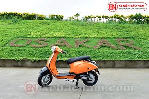 Xe máy điện Nispa SV Osakar màu cam