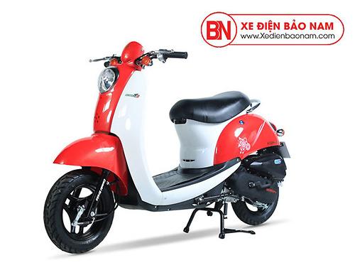 Xe ga 50cc Scoopy màu đỏ