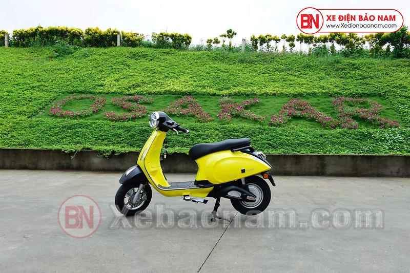 Xe máy điện Nispa SV Osakar màu vàng