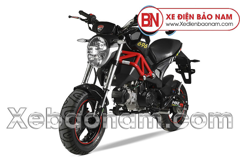 Xe máy Ducati Monster 50CC màu đen